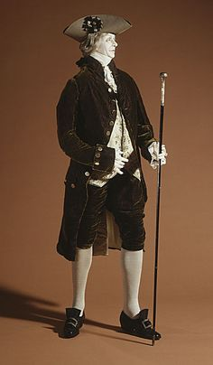 Suit, 1785-1789 via The Los Angeles County Museum of Art