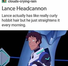 Head canon accepted <<<< was gonna pin it to my vld board BUT the hobbit hair reminds me of a certain tall lesbian...