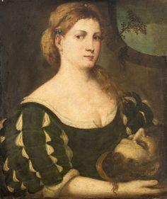 Veronese Salome mit dem Haupt Johannes d. Italian Renaissance Dress, Renaissance Fashion, Renaissance Clothing, Renaissance Art, Renaissance Portraits, Renaissance Paintings, Italian Outfits, Italian Clothing, Historical Costume