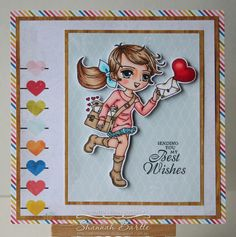 Delivery Beatrix card by Shannah