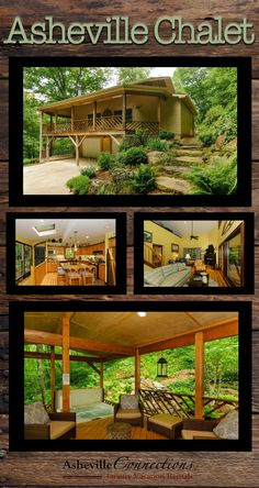 Asheville Chalet...BOOK NOW for the best FALL 2017 availability! Come see the gorgeous colors of an NC mountain fall!