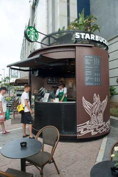 Nuevo concepto kiosko Starbucks