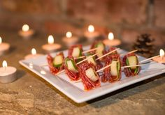 Be Kitchen Happy: Salami and Manchego Skewers