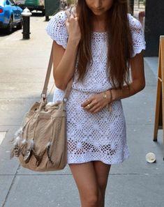 Crochet dresses.