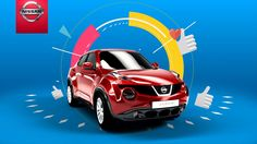Nissan on Vimeo - mix of flat animation and real photos