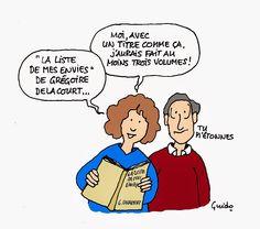 La liste de mes envies - Roman de Grégoire Delacourt