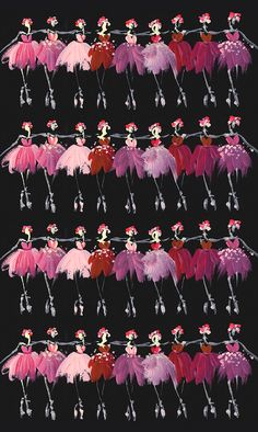 Rows Of Dancers