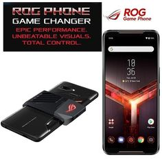 Love to play games on phone? Get your hands on Asus Rog gaming phone. Get yours now.🛒 #asusrog #gamingphone Latest Smartphones, Asus Rog, Back Camera, Light Sensor, Game Changer, Dual Sim, Wide Angle, Games To Play