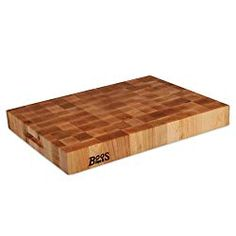 Shop John Boos & Co. End-Grain Maple Chopping Block and more from Sur La Table! Boos Cutting Boards, Diy Cutting Board, Butcher Block Cutting Board, Wood Chopping Block, Boos Blocks, Cookware Sale, Tamale Pie, Lemon Chicken Orzo Soup, Appliance Sale