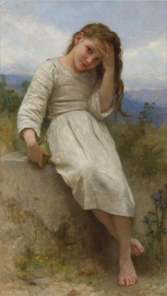 William-Adolphe Bouguereau - La Petite Maraudeuse - 1900