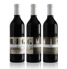 Mig Mig wine packaging by Senyor Estudi, Spain