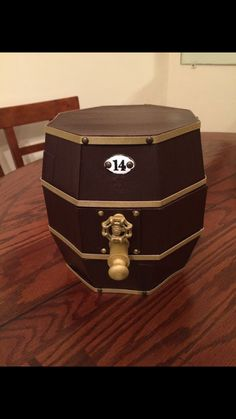 Beer Keg created by crafter  Troy Anna Pratt.