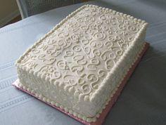 sheet cake decorating ideas - Google Search