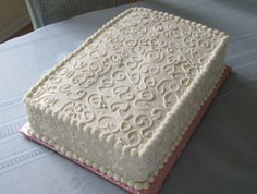 sheet cake decorating ideas - Google Search