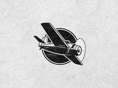 Rhyolite Design designed by David Pohlmeier. Aviation Tattoo, Aviation Logo, Airplane Drawing, Airplane Art, Flight Logo, Light Sport Aircraft, Design Kaos, Airplane Tattoos, Compass Logo