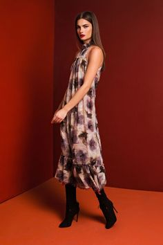 Gardenia Dress - Green Dahlia