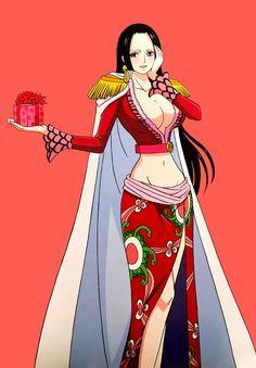 Boa Hancock - One piece Anime Echii, Anime One, Chica Anime Manga, One Piece Anime, Zoro, Luffy And Hancock, One Piece Games, Robin, Anime Sites