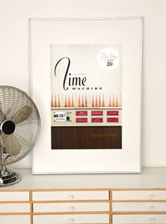 Beautiful retro-imaginary poster for $36 by evajuliet on Etsy