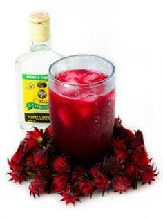 Jamaican sorrel drink(great for the holidays) http://www.jamaicatravelandculture.com/food_and_drink/sorrel_drink.htm