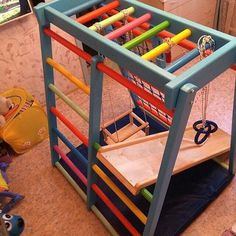 Indoor playground for baby. Useful gift for kids of 1 - 6 years old