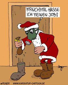 nikolaus lustige bilder | Gasmaske - Karikaturen und Cartoons
