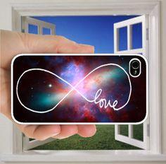 Infinity love - iphone Case , iphone 5 Case ,iphone 4s case ,iphone 4 case , iphone cover,infinity love iphone case