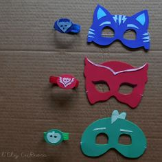 Pj Masks Kostüm, Festa Pj Masks, Halloween Birthday, 4th Birthday Parties, Halloween Diy, Dinosaur Birthday, Boy Birthday, Pj Max, Pjmask Party