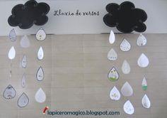 LAPICERO MÁGICO: Lluvia de versos.