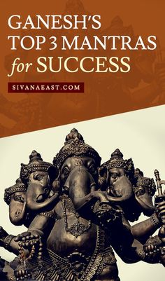 These Ganesh mantras can help remove obstacles that are blocking your path, and achieve the success you deserve! Hindu Vedas, Hindu Deities, Vedic Mantras, Hindu Mantras, Mantra For Good Health, Ganpati Mantra, Happy Ganesh Chaturthi Images, Positive Energy Quotes, Hindu Rituals