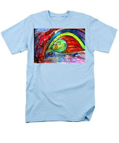 Vivid T-Shirt featuring the painting Things by Stephanie Zelaya
