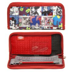 Disney Clutch Wallet Patchwork  Disney AND Harvey's? Yes, please.