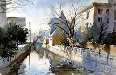 Fei Xiqiang #watercolor jd