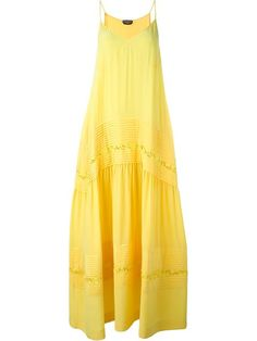 ROCHAS Pleated Slip Dress. #rochas #cloth #dress