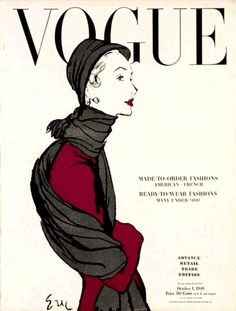 Carl Erikson, Vogue, October 1948 by Gatochy