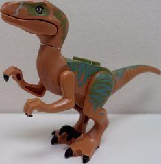 LEGO Jurassic World Echo Velociraptor - Brand New 75920 Minifigure Dinosaur #LEGO