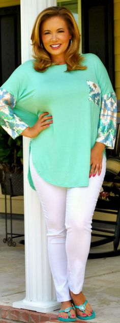 Perfectly Priscilla Boutique - All That Glitters Top, $40.00 (http://www.perfectlypriscilla.com/all-that-glitters-top/)