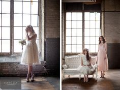 Vintage dresses from White Elephant #vintage, #hamilton photo by Clair Dam photography