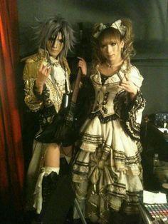 Teru. Hizaki. Versailles.