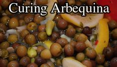 I've cured Arbequina olives to see how this small olive fruiting variety compares to the larger types. Arbequina Olive Tree, Brine Solution, Types Of Fruit, Kalamata Olives, Wheat Grass, Olive Fruit, Good Enough To Eat, Falling Apart, Fresh Herbs