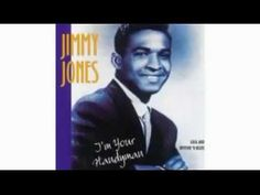 Jimmy Jones , whose hits included Handy Man and Good Timin' , passed away last Thursday in Aberdeen, NC at the age of Jones was born. Jimmy Jones, You Get It, Rhythm And Blues, Passed Away, Motown, Pop Music, Rock N Roll, Boys, Youtube