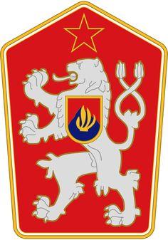 Coat of arms of Czechoslovakia - Štátny znak Slovenska – Wikipédia Retro Logos, Emblem, Gif Animé, Retro 1, Tattoo Trends, Symbolic Tattoos, Crests, Rare Photos, Coat Of Arms