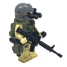 Brick Forces United States Air Force (USAF) Pararescue - PJ – Brick Forces Minifigures
