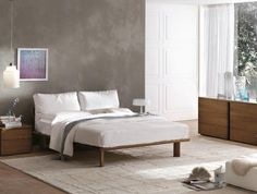 Piuma bed with Dolce vita furniture