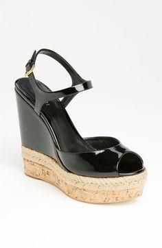 Gucci Hollie Wedge Sandal | Nordstrom