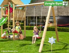 Jungle Gym Swing Module Frame Extra ( Two Standard Seats )