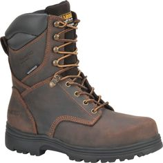 CA3534 Carolina Men's Waterproof Safety Boots - Brown