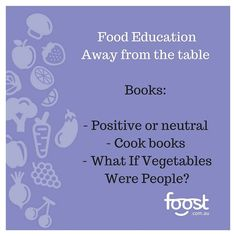 What's a great way to build positive exposures to veggies away from the table (to build a child's trust and familiarity so they might choose it at the table in time?) - books! Do you have positive or neutral books about food? (Be careful there are some not positive ones out there). What if Vegetables Were People is a great one! I wrote it with my kids! Have you heard of it? Check out the link in my bio  #whatifvegetableswerepeople #books #foodeducation #veggiebooks
