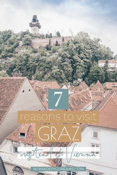 7 Reasons to Visit Graz Instead of Vienna (Love Letter by a Local), TRAVEL, Are you planning a trip to Austria? Why not visit Graz instead of Vienna and avoid the tourist crowds? here are 7 reasons why Graz should be on your b. European Vacation, European Destination, European Travel, Visit Austria, Austria Travel, Cool Places To Visit, Places To Travel, Travel Destinations, Holiday Destinations