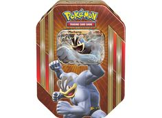 Choose your favorite Pokemon in the Pokemon Trading Card Game: Triple Power Tin! This rugged tin contains a mighty Pokemon-EX from the ranks of champions get ready to meet some of the most powerful Pokemon ever discovered! Pokemon Tins, Pokemon Games, Pokemon Trading Card, Trading Cards, Powerful Pokemon, Star Wars Games, Tin Containers, Magic The Gathering, Games