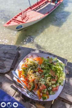 Coral Beach on Koh Ta Kiev Island in Cambodia - Bobo and ChiChi - Food-Vs-Boat